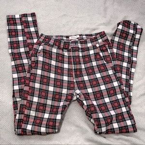 urban outfitters plaid pants size small